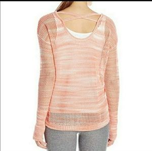Summer or Cover Up Sweater with Thumbholes